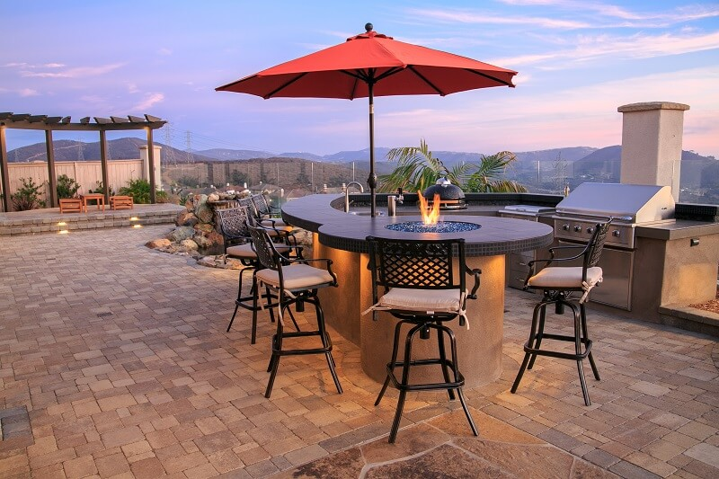 Outdoor Kitchen San Marcos