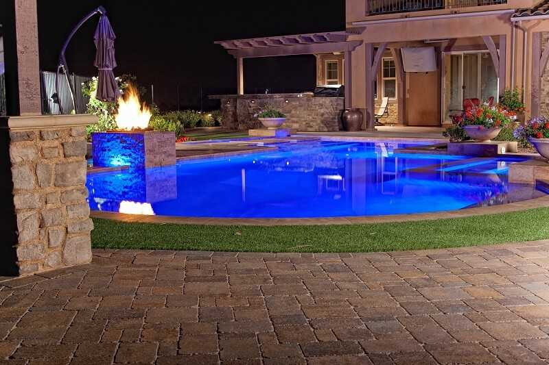 Pool Deck Pavers Installation 22